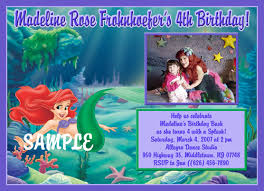 mermaid birthday invitations ideas u2013 bagvania free