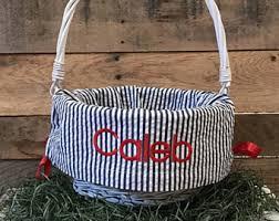 personalized easter basket liner personalized easter basket liner etsy