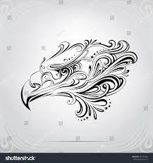 eagle ornament stock vector 267102488