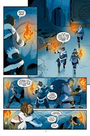 Avatar The Last Airbender Map Hakoda Finds A Secret Message In Avatar Comic Preview