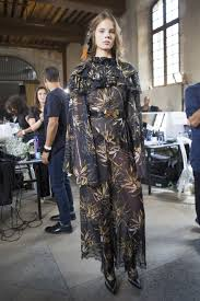 rodarte spring 2018 fashion show backstage designers backstage