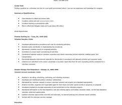 Resume Volunteer Work 100 Volunteer Section Resume Examples Resumes Resume Simple