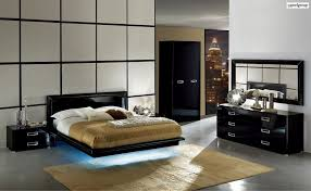 chic led bedroom set la star with leather accents italian made chic led bedroom set la star with leather accents italian made