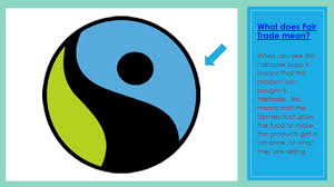 what does the logo fairtrade by evie ppt
