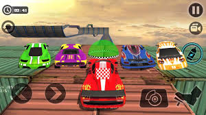 3d monster truck stunt racing impossible stunt car tracks 3d all vehicles unlocked android