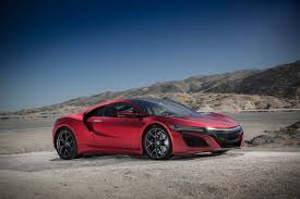 acura supercar first serial production 2017 acura nsx rolls off the line at
