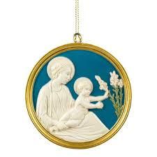 della robbia madonna and child ornament national gallery of