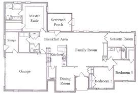 open ranch style floor plans single story ranch style house plans ranch house floor plans open