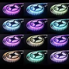 color changing led strip lights with remote led strips lighting rxment 5m 16 4 ft 5050 rgb 300leds flexible