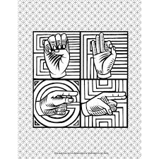 deaf culture fairy tales coloring book childrens sign language