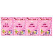 sweet hearts candy bulk sweethearts conversation hearts candy 4 box packs at