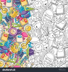 elements clip art doodle cartoon stock vector 678565642