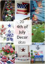 Fourth Of July Table Decoration Ideas The Best 4th Of July Decor Ideas A Blissful Nest