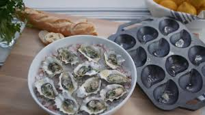 sur la table cast iron oyster pan youtube
