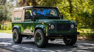 land rover wolf barbour u0027s custom land rover is a thing of beauty airows