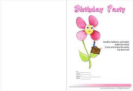 printable birthday invitation u2013 gangcraft net
