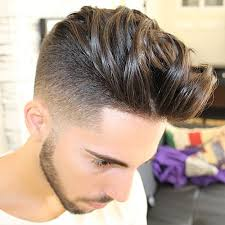 long hair at the front shaved at the back men s haircut with shaved temples hair ideas