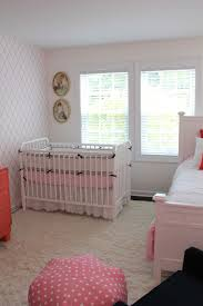 Light Pink Curtains For Nursery by Imperfect Polish Baby Nursery