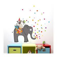 stickers elephant chambre bébé sticker c est la fête 2 déco chambre bébé et enfant série golo