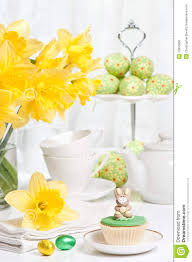 easter tea party easter tea party stock photo image 13810080