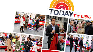today show set today show toy drive thrills children in need