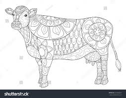 100 coloring page cow cow coloring page for kids learn colours