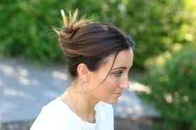 time to get messy hairstyles 3 easy pencil bun ideas back to hairstyles cute girls