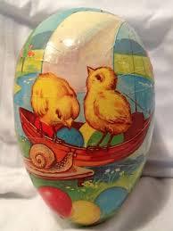 vintage paper mache easter eggs still woods farmhouse let s make decoupage easter eggs