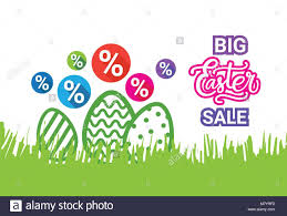 decorative eggs for sale big easter sale poster discounts banner with decorative