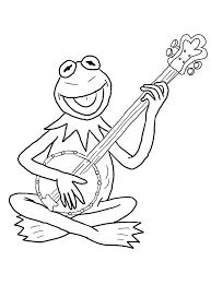 kermit coloring free download