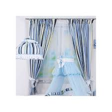 chambre bébé rideaux rideaux chambre bébé avec embrasses bleu roi é