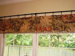 interior design traditional patterned valance ideas decor for