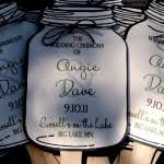 jar wedding programs jar paddle fan programs the blue envelope