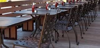 Commercial Patio Tables And Chairs Extraordinary Commercial Outdoor Dining Furniture Ideas Pectacular