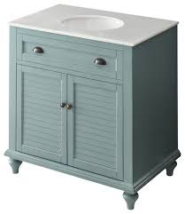 34 cottage look light blue glennville bathroom sink vanity