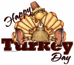 happy thanksgiving day turkey clip library