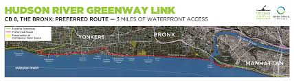 Bronx Map Maps The Hudson River Greenway Link