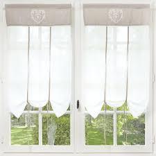Rideaux De Cuisine Originaux Storeaus Baumwolle 60 X 110 Cm Ecru Decoration And Room