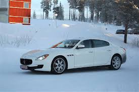 maserati quattroporte 2017 2017 maserati quattroporte facelift spied with little disguise