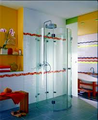 Wooden Bench For Shower Bathroom Modern Acrylic Shower Room Integrated With Vanity For