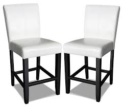 kendall off white accent counter chairs set of 2 the brick hover to zoom