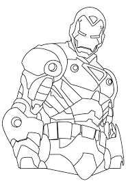 ironman coloring pages coloring pages kids