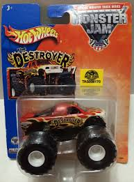 tas032312 2013 mattel wheels monster jam the destroyer die
