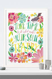 216 best printspiring art for inspired spaces images on pinterest a reminder for your wall take time to do what makes your soul happy
