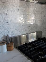 hexagon tile kitchen backsplash hexagon backsplash tile home tiles