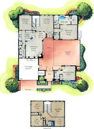 style house plans with courtyard small hacienda style house plans courtyard home designs