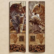 african animal print wall art modern home decoration trending