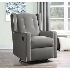 furniture rocking chair glider nursery serra glider and ottoman