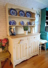 Painting Old Furniture by Stunning Welsh Dresser Painted In Annie Sloan Old Ochre With