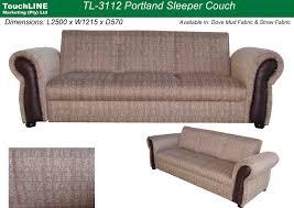portland sleeper sofa touch line